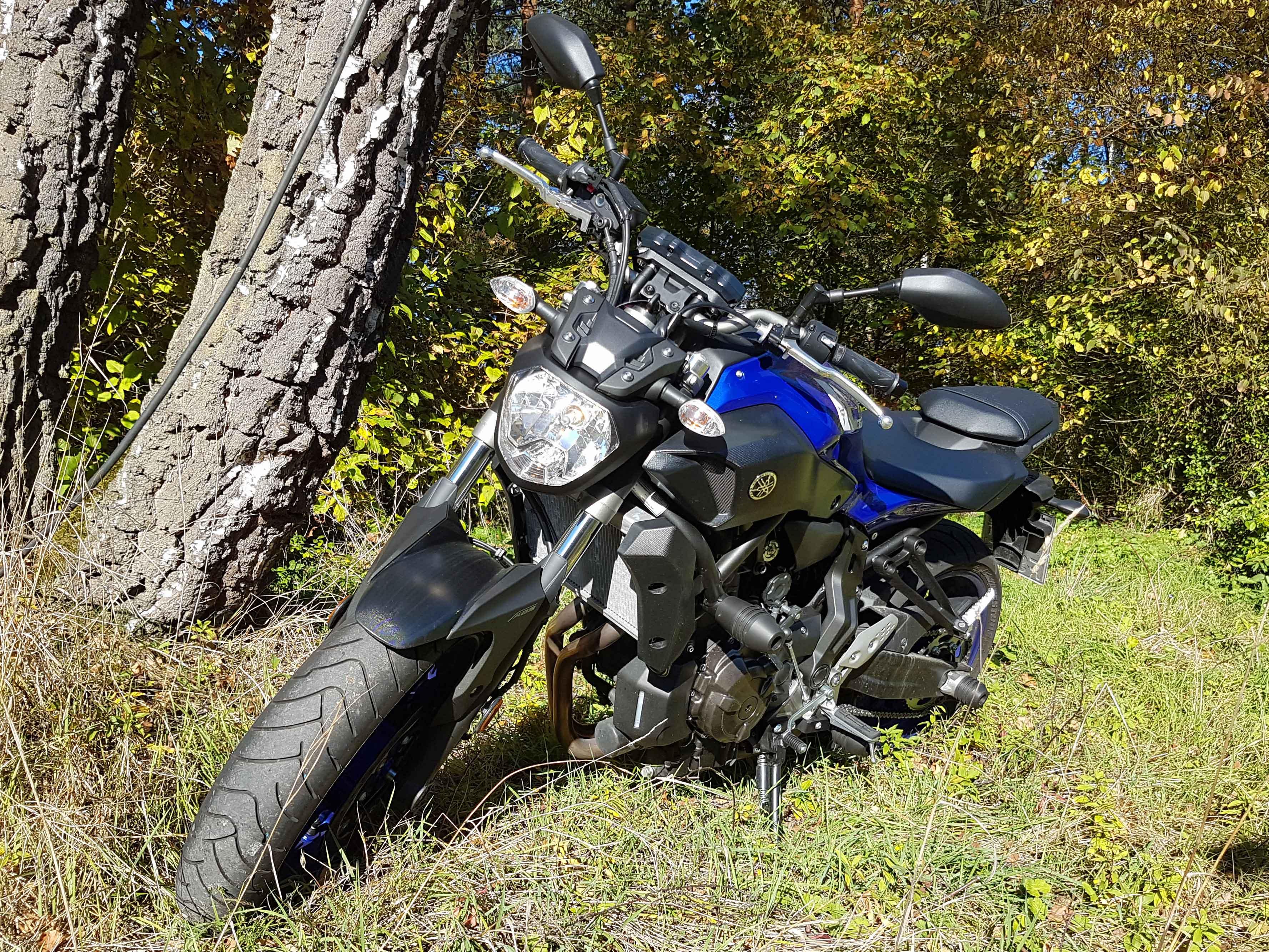Yamaha MT 07 bei Fahrschule Schulze